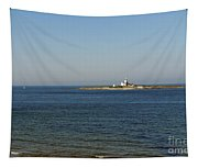 Coquet Island And Lighthouse Tapestry
