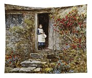 Corcorus Japonica Tapestry