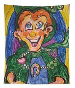Corey The Lepperchaun Lucky Charms Tapestry
