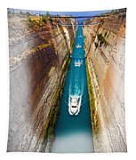 Corinth Canal  Tapestry