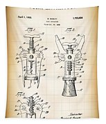 Cork Extractor Patent  1930 Tapestry