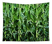 Corn Field's First Row Tapestry