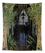 Corner Of A Flat At Argenteuil Tapestry