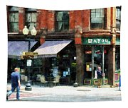 Corner Of Columbia And Pearl Albany Ny Tapestry