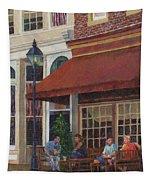 Corner Restaurant Tapestry