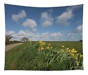Cornish Daffodil Hedge Tapestry