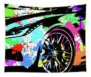 Corvette Pop Art 3 Tapestry