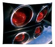 Corvette Tail Lights Tapestry