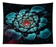 Cosmic Flower Tapestry
