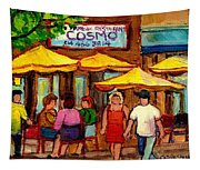 Cosmos  Fameux Restaurant On Sherbrooke Tapestry