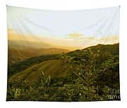Costa Rica Rolling Hills 2 Tapestry