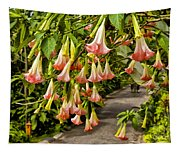 Costa Rica Wedding Bells Tapestry