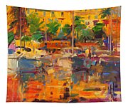 Cote D'azur Reflections Tapestry