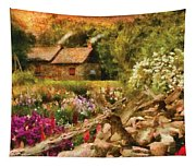 Cottage - There's No Place Like Home Tapestry