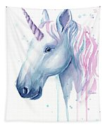 Cotton Candy Unicorn Tapestry