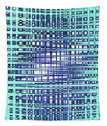 Cotton Field Abstract Tapestry