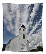 Country Church Tapestry