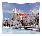 Country Club Christian Church Tapestry