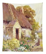 Country Cottage Tapestry
