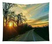 Country Road Please Take Me Home Tapestry