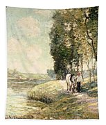 Country Road To Spuyten Tapestry