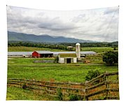 Country Scenic In West Virginia Tapestry