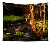 Country Stream Tapestry