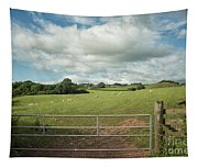 Countryside In Wales Tapestry