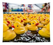 County Fair Rubber Duckies Tapestry