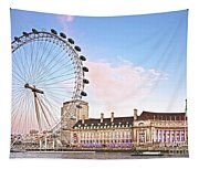 County Hall And London Eye Tapestry