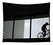 Couple At The Window Tapestry