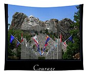 Courage 1 Tapestry