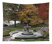 Courthouse Square In Rockville Maryland Tapestry