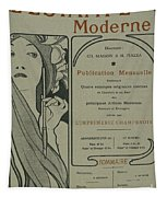 Cover Page From Lestampe Moderne Tapestry