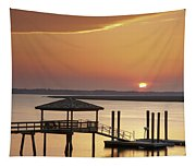 Covered Dock Tapestry