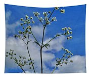 Cow Parsley Blossoms Tapestry