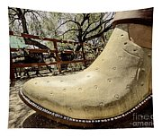 Cowboy Boot Tapestry