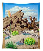Cowboy Concerns Tapestry
