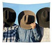 Cowboys Anonymous Tapestry