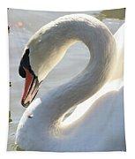 Coy Swan Tapestry
