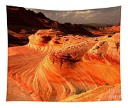 Coyote Buttes Rainbow Dragon Tapestry