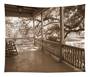 Cozy Southern Porch Tapestry