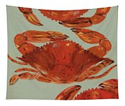 Crabs Tonight Tapestry