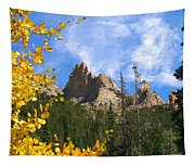 Crags In Fall Tapestry