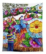 Craving Mardi Gras Beads - Tiptoe Pleading Technique - Vignette Tapestry