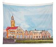 Crawford Market Mumbai Tapestry