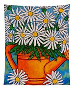Crazy For Daisies Tapestry