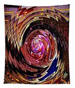 Crazy Swirl Art Tapestry
