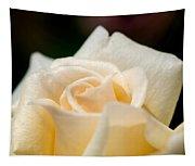 Cream Rose Kisses Tapestry