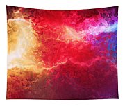 Creation - Abstract Art Tapestry